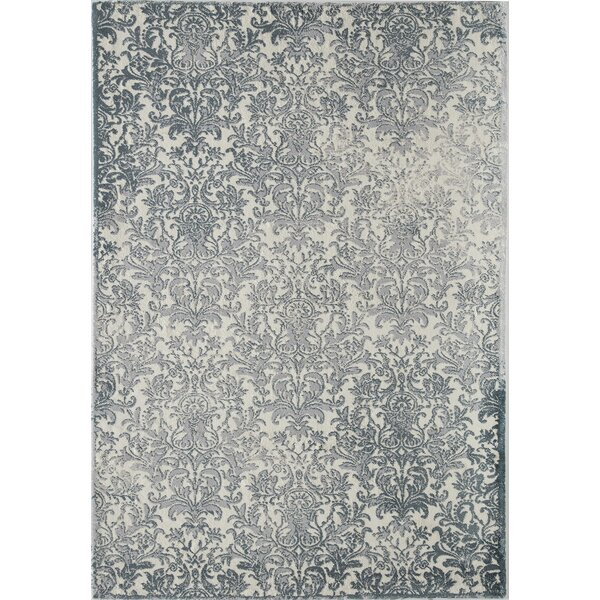 Brigette Gray Area Rug by House of Hampton