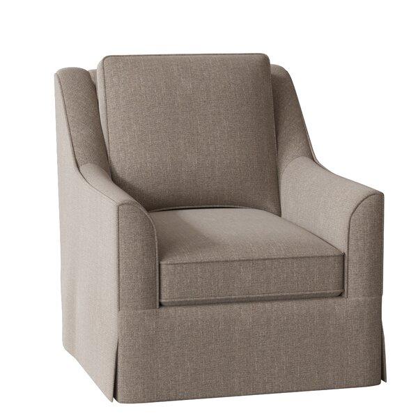 Bella Swivel Glider Armchair By Wayfair Custom Upholstery™
