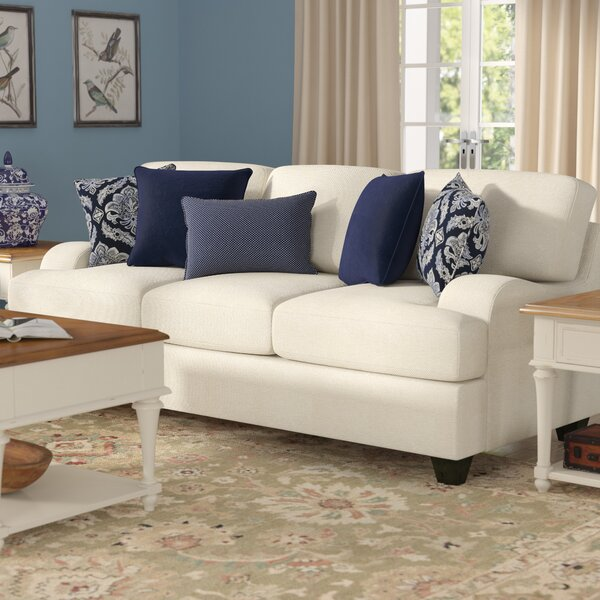 Simmons Upholstery Hattiesburg Stone Sofa by Three Posts