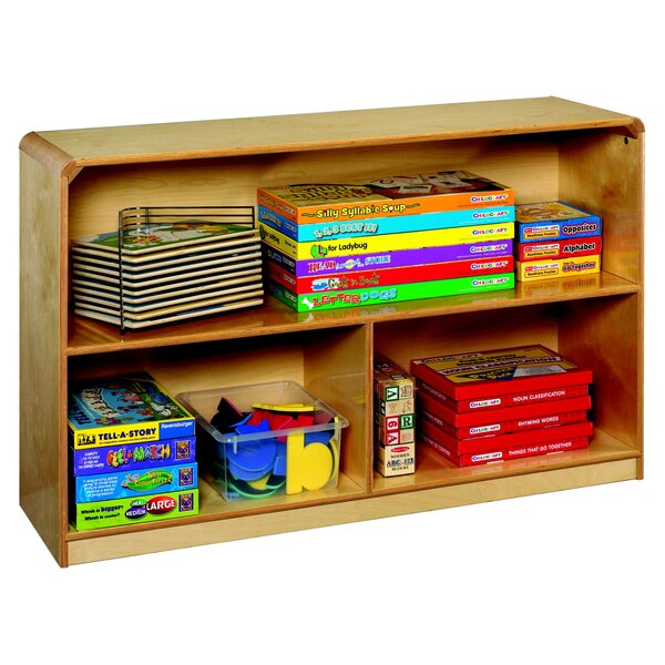 3 Compartment Shelving Unit with Casters by Korners for Kids