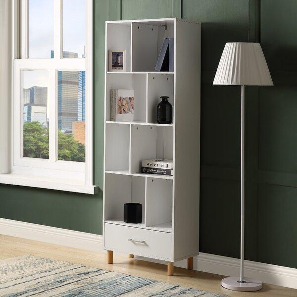 Ayumi Standard Bookcase By Ebern Designs