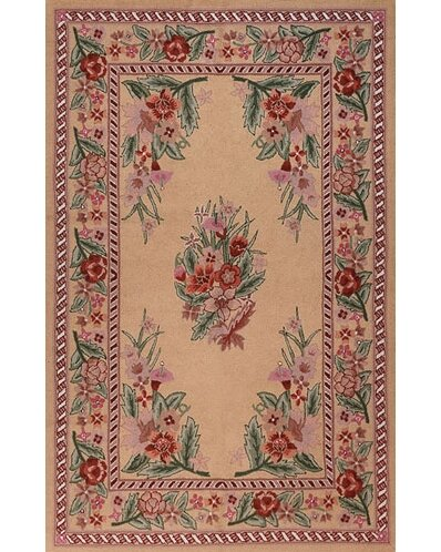 Bucks County Beige/Autumn Sarough Area Rug by American Home Rug Co.