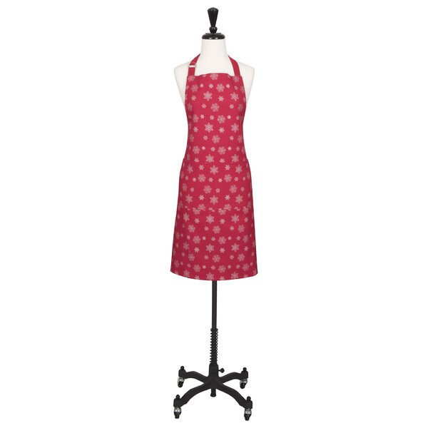 Cotton Snowfall Apron by The Holiday Aisle