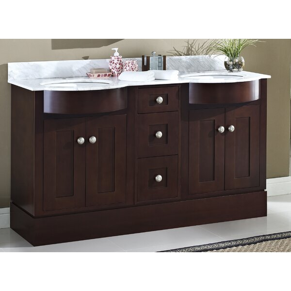 Kester 60 Rectangular Bathroom Vanity by Darby Home Co