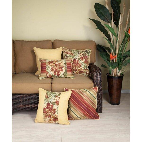 St. Marks Place Cinnabar Lumbar Pillow by Bay Isle Home