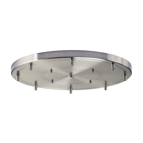 Illuminare Accessories 8-Light Round Pan in Satin Nickel by Elk Lighting