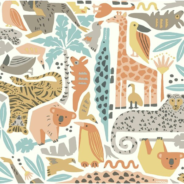 Baby & Kids Jungle Puzzle by York Wallcoverings