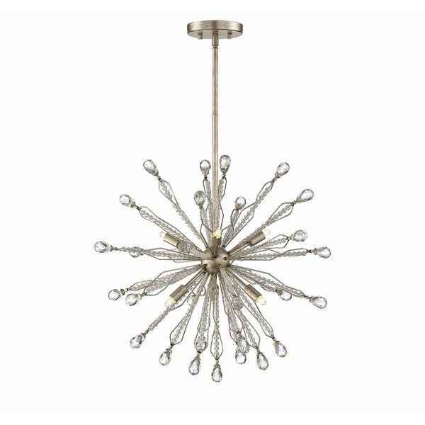 Stoudt 6-Light Sputnik Chandelier by Wrought Studio