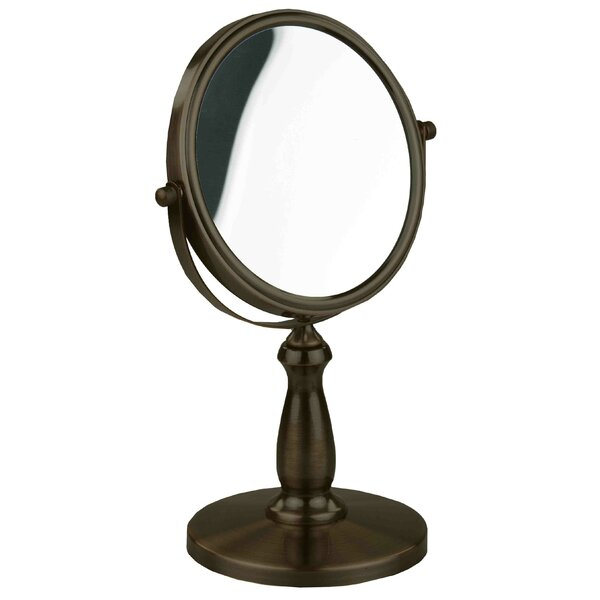 2 Sided Cosmetic Mirror by Home Basics