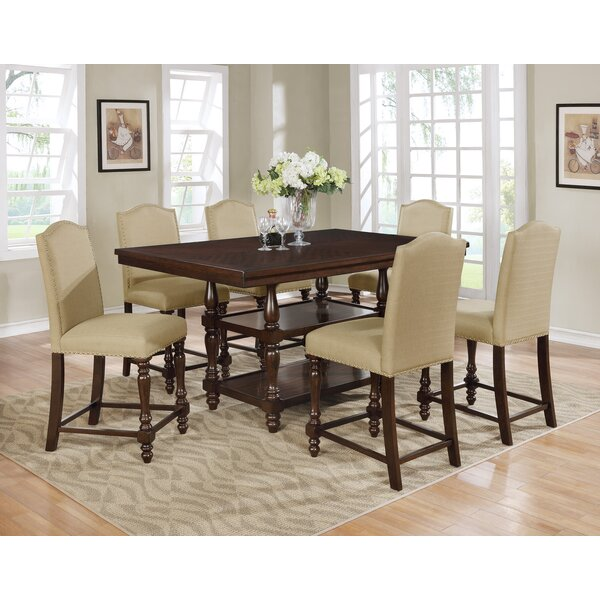 Heady 7 Piece Dining Set By Charlton Home