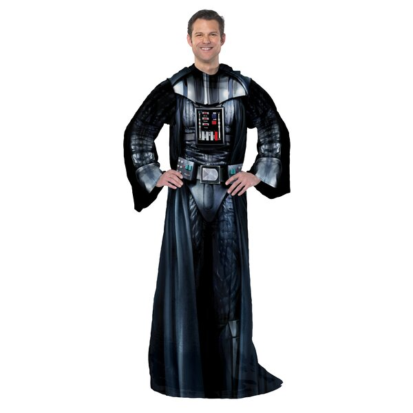 Star Wars Classic Being Darth Vader Fleece Throw by Northwest Co.