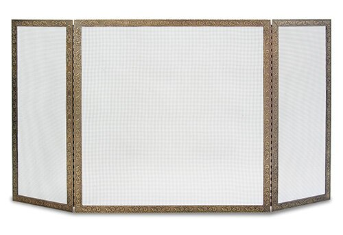 Bay Branch 3 Panel Fireplace Screen By Pilgrim Hearth