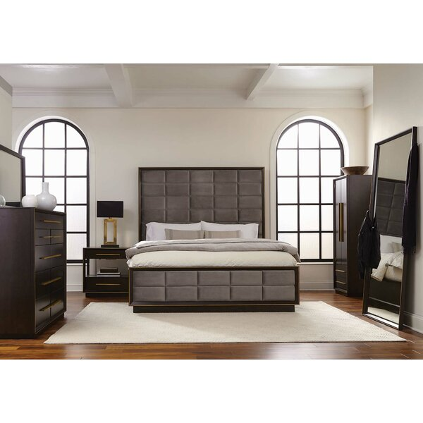 Durango Upholstered Standard Bed by Mercer41