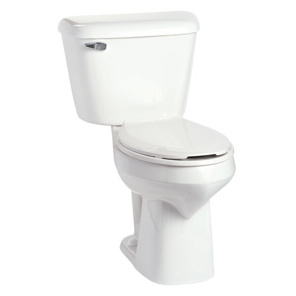 Alto SmartHeight 1.6 GPF Elongated Two-Piece Toilet by Mansfield Plumbing Products