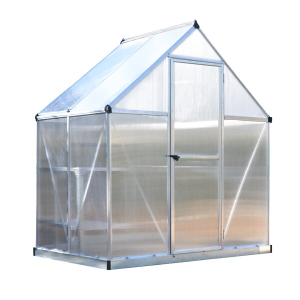 Mythos 6 Ft. W x 4 Ft. D Greenhouse by Palram