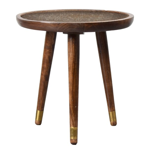 Jayvion Wooden End Table by Bungalow Rose