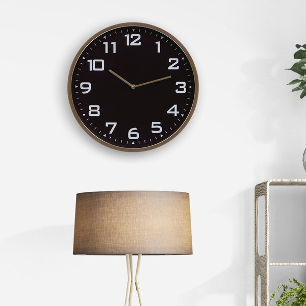 Pelfrey Essential 16 Wall Clock by George Oliver