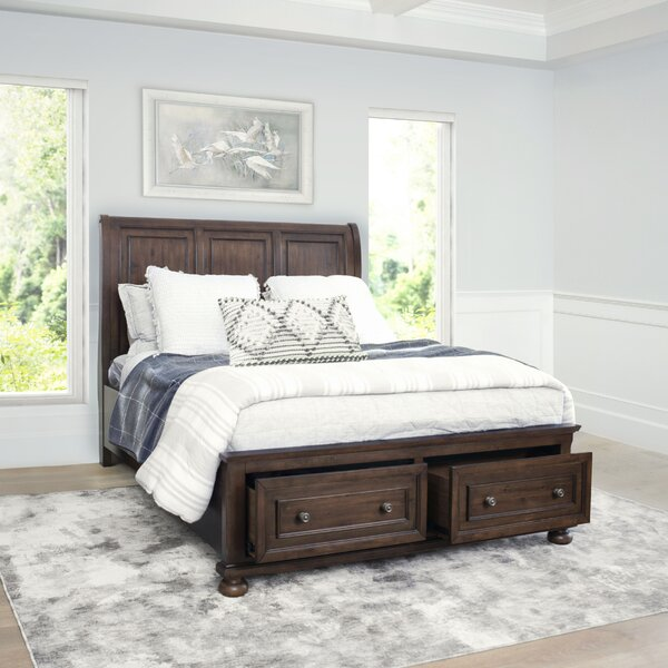 Chilmark Platform Solid Wood 5 Piece Bedroom Set by Darby Home Co