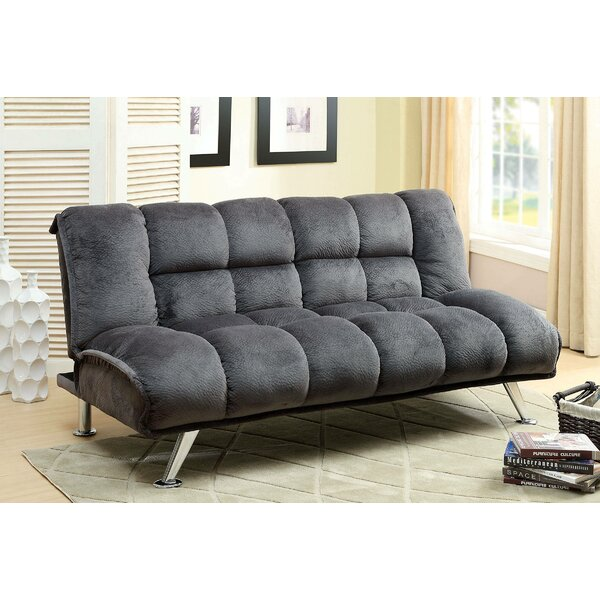 Lozko Twin Tufted Back Convertible Sofa By Latitude Run