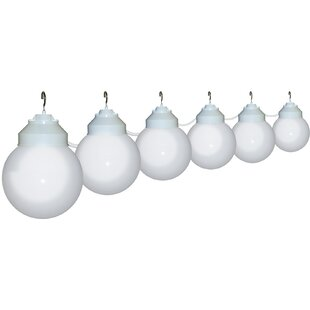 Best Choices 6-Light Globe String Lights By Polymer Products
