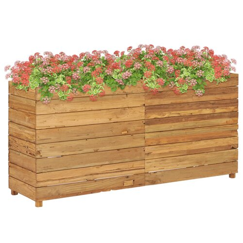 Cornwall Wooden Planter Box Freeport Park