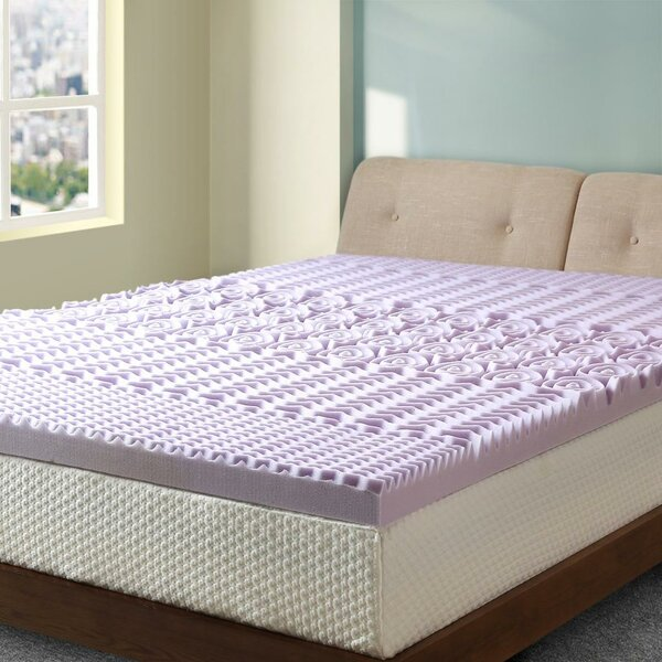 Ida 5-Zone 3 Memory Foam Mattress Topper by Alwyn Home
