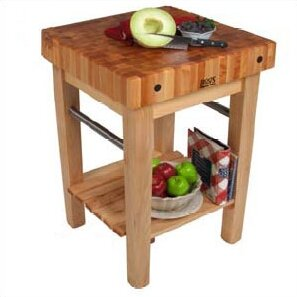 BoosBlock Butcher Block Prep Table by John Boos