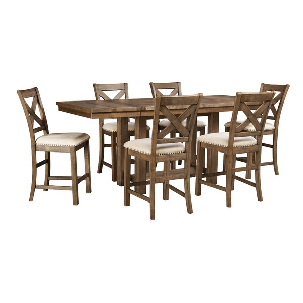 Hillary Counter Height Extendable Dining Table by Laurel Foundry Modern Farmhouse