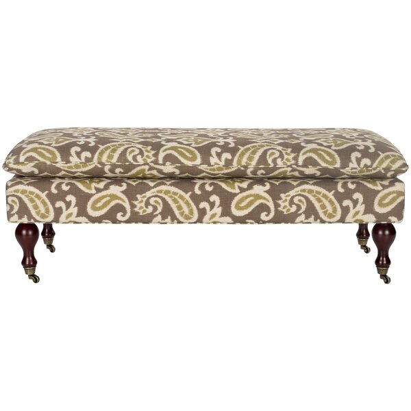 Hampton Upholstered Bench by Safavieh