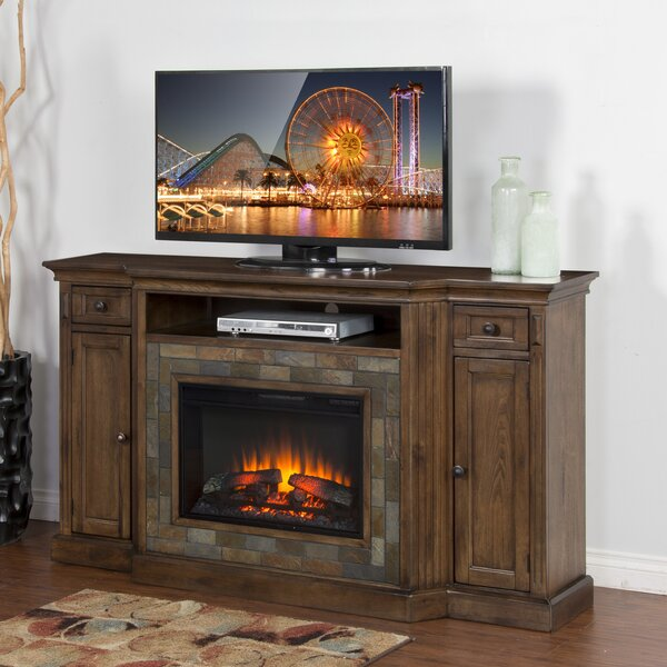 Birney 72 TV Stand with Fireplace by Loon Peak