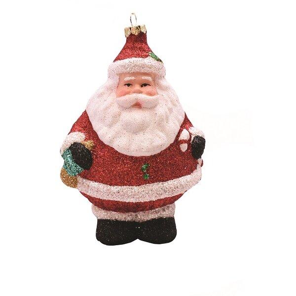 Mardi Gras Santa Christmas Tree Ornament King Santa New Orleans Santa Stocking Stuffer or Secret Santa Gift Santa Christmas Ornament