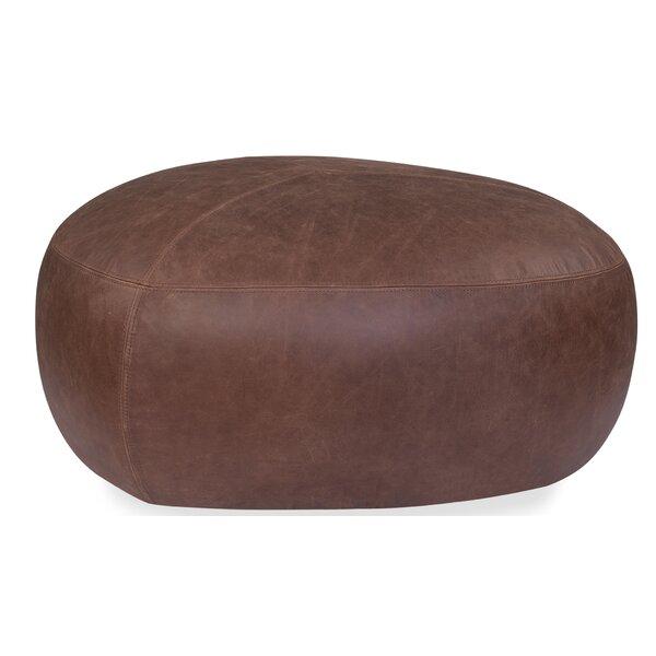 Compare Price Ardin Leather Pouf