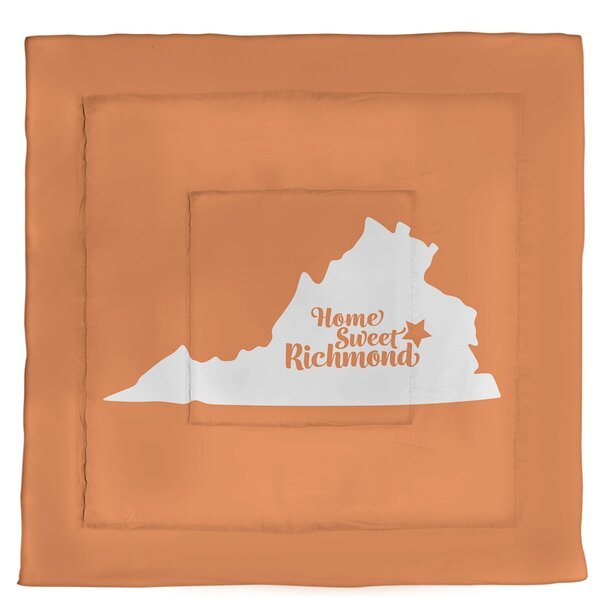 Virginia Richmond Single Reversible Comforter