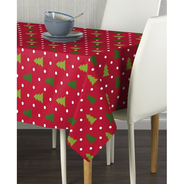 Endicott Christmas Trees Milliken Tablecloth by Th