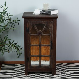 Reviews Manuel Mirror Small Console 1 Door Accent Cabinet By Millwood Pines