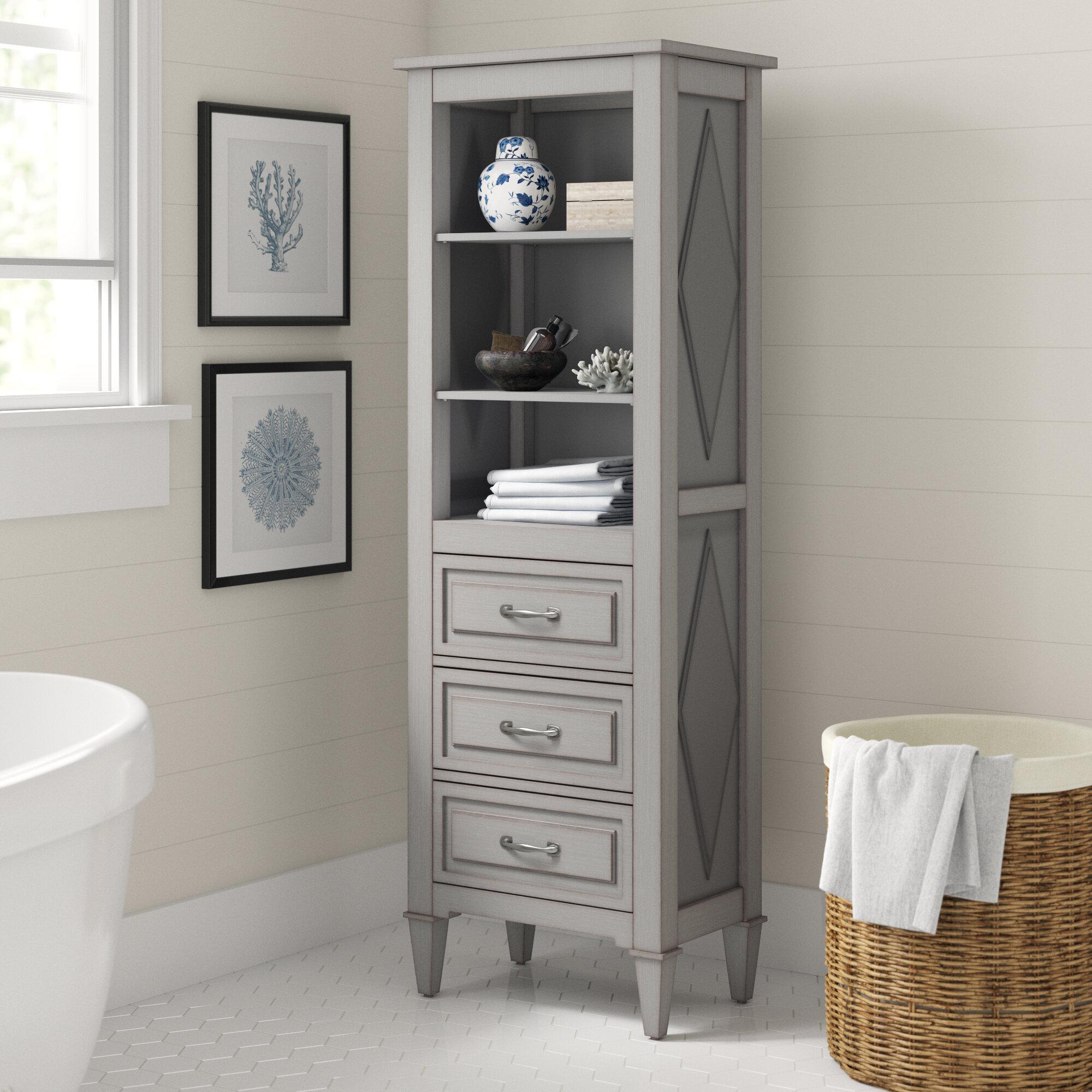 Lutton 22 W X 65 H Linen Cabinet Reviews Birch Lane