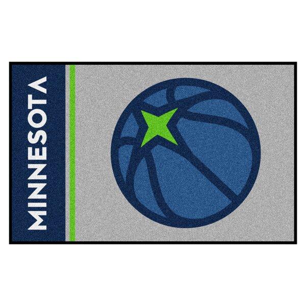 NBA Minnesota Timberwolves Starter Mat by FANMATS