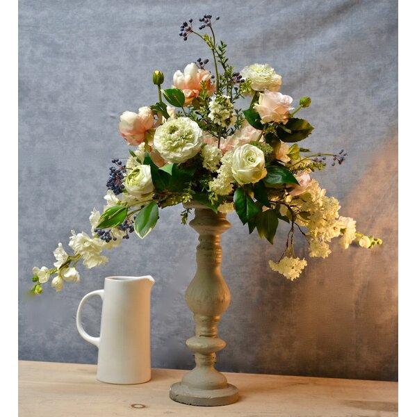 Candlestick Mixed Centerpiece by One Allium Way