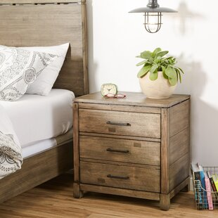 Seleukos 2 Drawer Nightstand Mercury Row