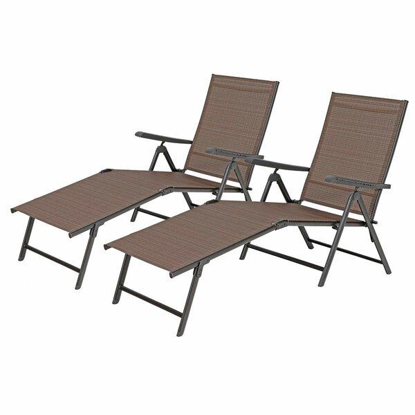 Loch Reclining Chaise Lounge Set (Set of 2) by Latitude Run Latitude Run