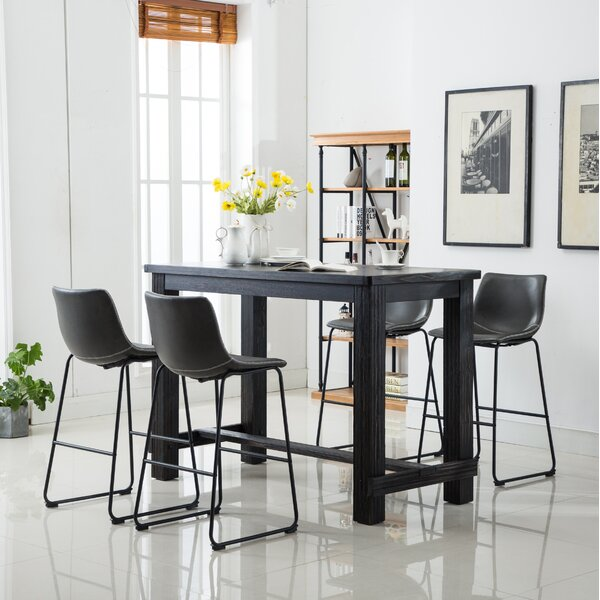 Shoemaker 5 Piece Dining Set by Union Rustic