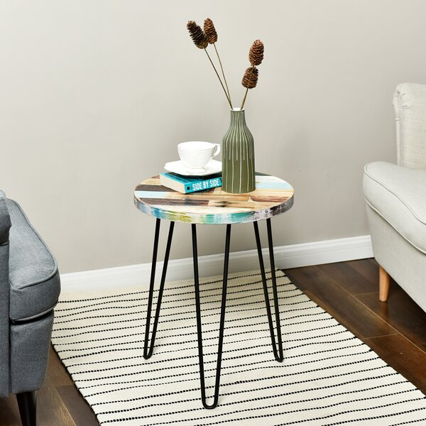 Buchholz End Table by Union Rustic