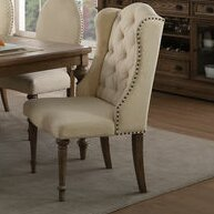 Antonie Upholstered Dining Chair (Set of 2) by One Allium Way