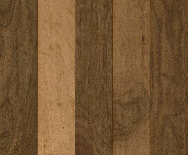 American Scrape 5 3 4 Engineered Walnut Hardwood Flooring In Natural