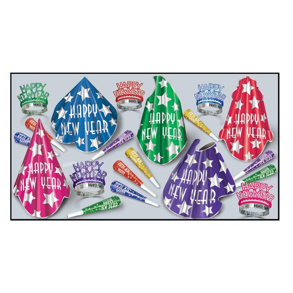Midnight Star Party Hat Set by The Holiday Aisle