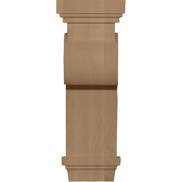 Scroll 12H x 4 1/2W x 5 5/8D Corbel in Cherry by Ekena Millwork