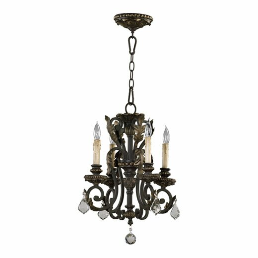 Ancram 4-Light Candle Style Classic / Traditional Chandelier By Astoria Grand
