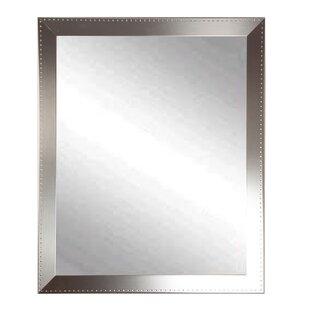 Brandt Works LLC Embossed Steel Wall Mirror
