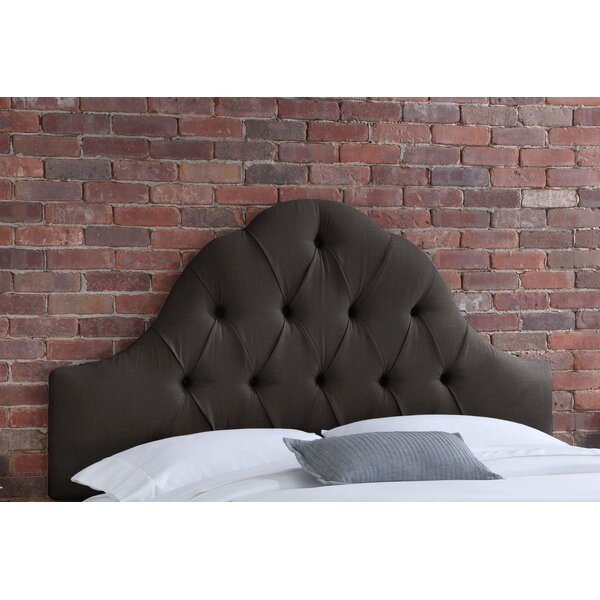 Deville Upholstered Panel Headboard By House Of Hampton by House of Hampton Discount