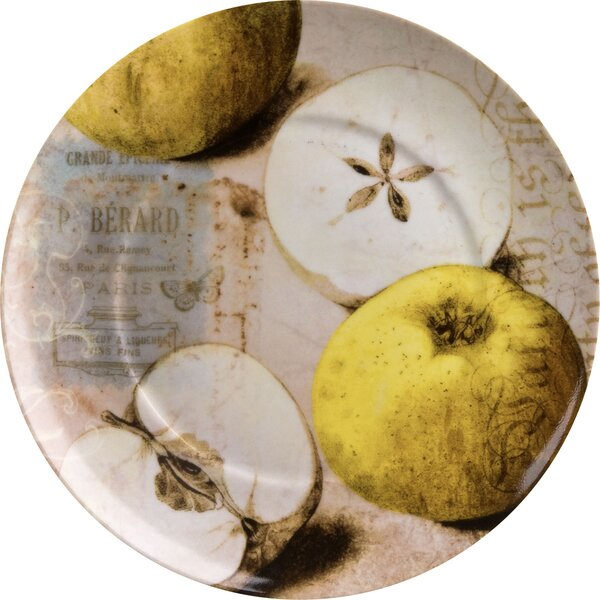 Accents Nature Apples 8 Dessert Plate (Set of 4) by Waechtersbach